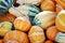 Stock Image : Orange Gourds