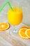 Stock Image : Orange smoothie
