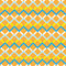Stock Image : Orange zigzag seamless pattern