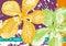 Stock Image : Orchid Batik