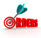 Orders 3D Word Arrow Target Purchasing Merchandise Store Sales