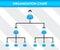 Stock Image : Organization chart template