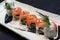 Stock Image : Oriental Delicacy - Dai Dai Roll