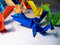 Stock Image : Origami Dragons