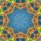 Stock Image : Ornamental round pattern
