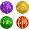 Stock Image : Ornaments for Christmas tree
