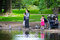 Stock Image : Orthodox Jewish children playing
