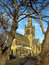 Stock Image : Ossett Church thro Trees