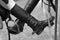 Stock Image :  Paardrijdenlaarzen