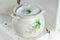 Stock Image : Painted ceramic pot
