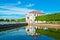 Stock Image : Palacio de Marli en el parque de Peterhof