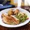 Stock Image : Pan fried tilapia