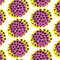 Stock Image : Pansy Pattern