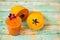 Stock Image : Papaya smoothie