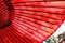 Stock Image :  Parapluie rouge japonais traditionnel