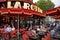 Stock Image : Paris Restaurant