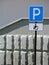 Stock Image :  Parkeren voor gehandicapte bestuurders
