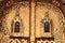 Stock Image : Part of door church