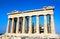 Stock Image : Parthenon on the Acropolis, Athens, Greece