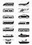 Stock Image : Passenger & public transportation