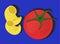 Stock Image : Pasta and Tomato