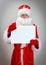 Stock Image : Pathetic Santa Claus.