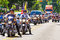Stock Image : Patriot Guard and Rolling Thunder Motorcycle Riders in PArade