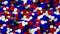 Stock Image : Patriotic Hexagons