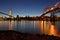 Stock Image : Pattullo Bridge and the Skybridge
