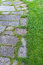 Stock Image : Paved garden