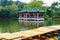 Stock Image : Pavilion in lake