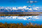 Stock Image : Peak Naimonanyi by  Lake Manasarovar in Tibet