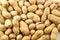 Stock Image : Peanuts on white background