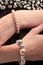 Stock Image : Pearl bracelet