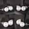Stock Image : Pearls earrings