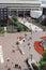 Stock Image : Pedestrians outside Paradise Forum, Birmingham