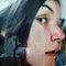 Stock Image : Peeking woman