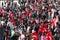 Stock Image : People celebrating the foundation of the Republic of Turkey