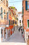 Stock Image : People on the street in Venice, Italy