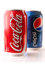 Stock Image : Pepsi vs. Coke: 12 Ounce Cans