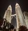 Stock Image : Petronas Building Kuala Lumpur