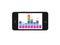 Stock Image : Phone equalizer