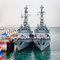 Stock Image : PHUKET, THAILAND - 22 FEB 2013: Two military Burmese anchored sh