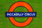 Stock Image : Piccadilly Circus subway sign