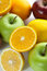 Stock Image : Picture of healthy fruits