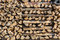 Stock Image : Pile of chopped wood.