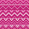 Stock Image : Pink background with zig zag lines and dots