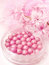 Stock Image : Pink blush in beads