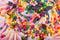 Stock Image : Pink cream cake