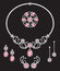 Stock Image : Pink diamond jewellery